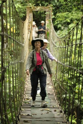 Canopy Lodge, Swing Bridge, Panama, Caligo Ventures